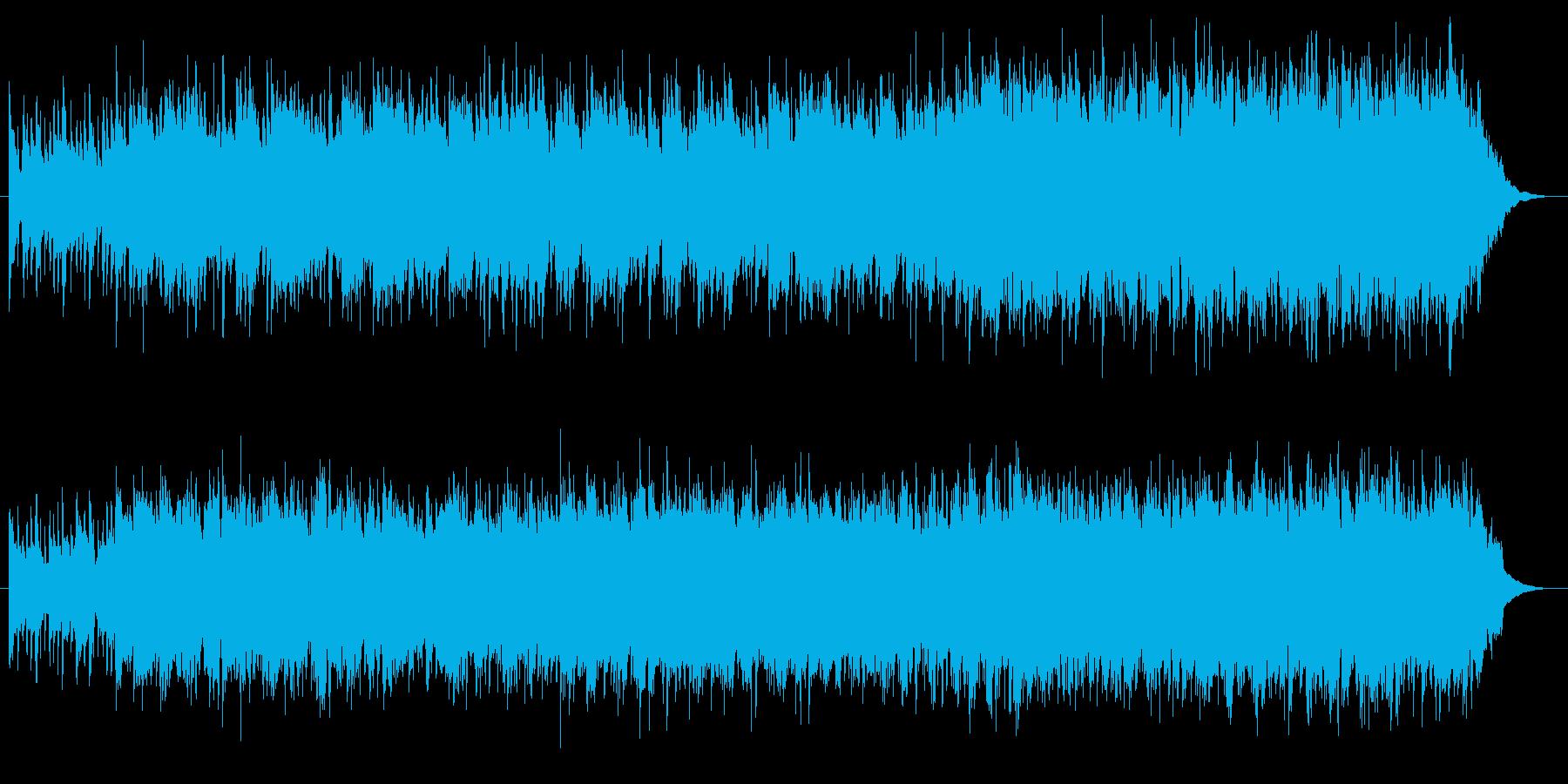 コンドルは飛んで行くのような民族調の曲の再生済みの波形