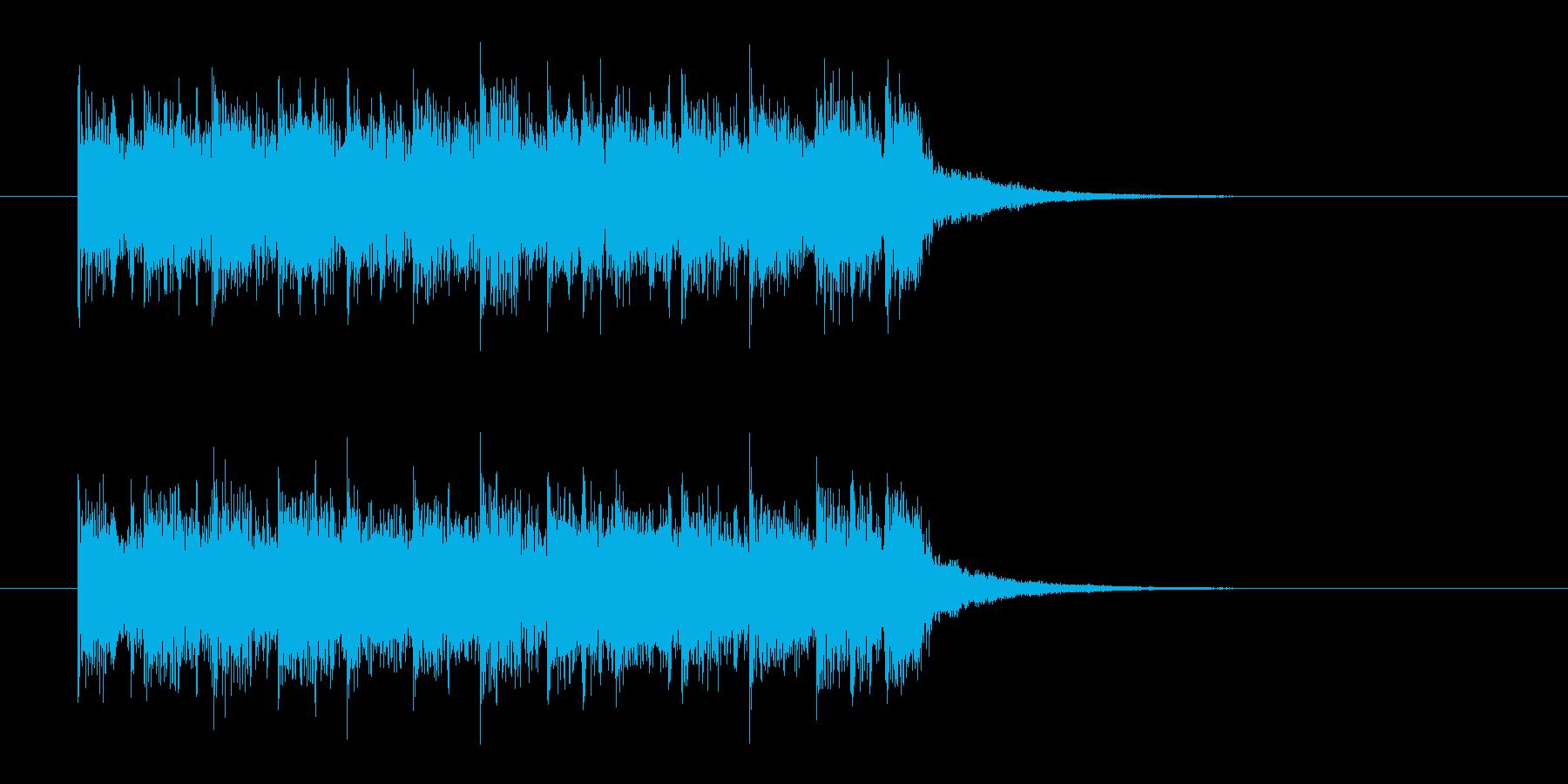 ライブを締めくくる最高潮な音楽の再生済みの波形