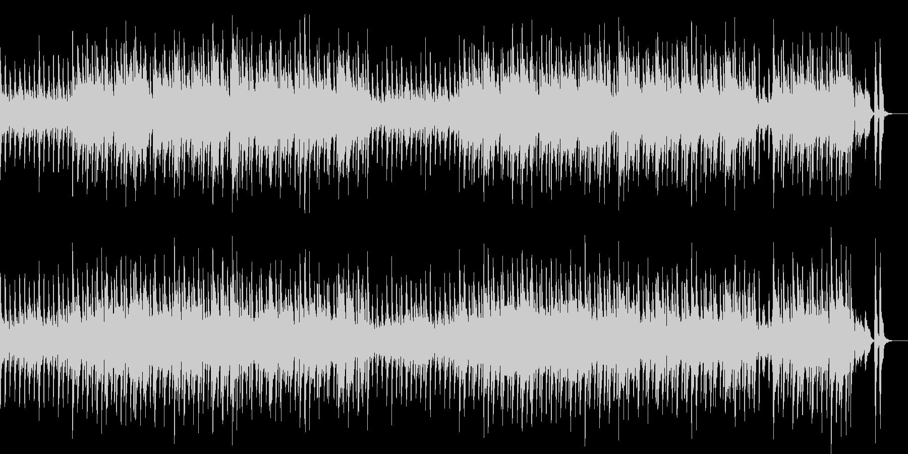 明るくかわいいリコーダーとピアノの曲の未再生の波形