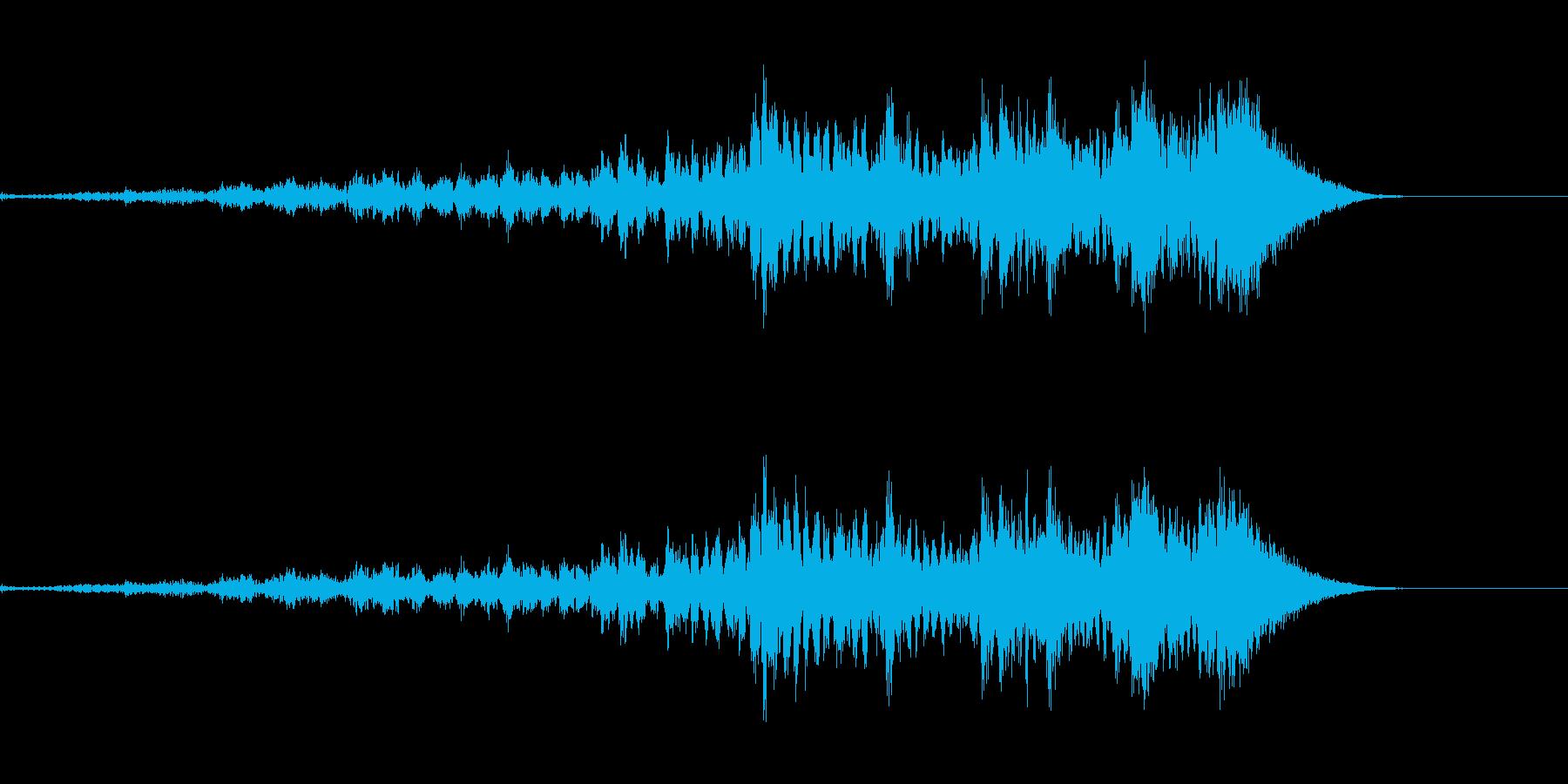 発表にの再生済みの波形