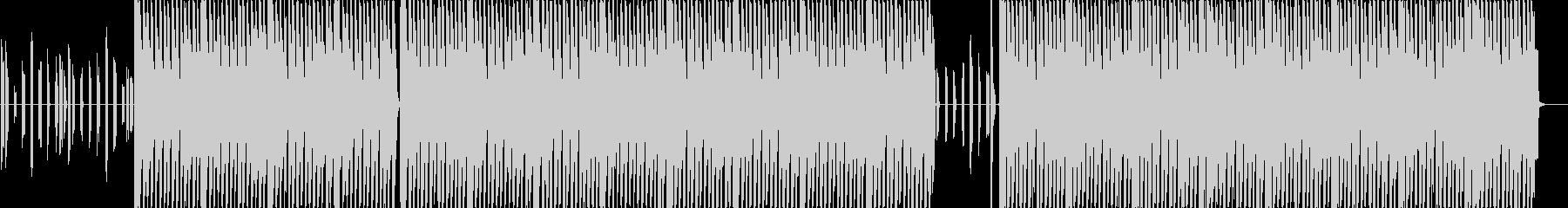 エレクトリックなディスコポップスの未再生の波形
