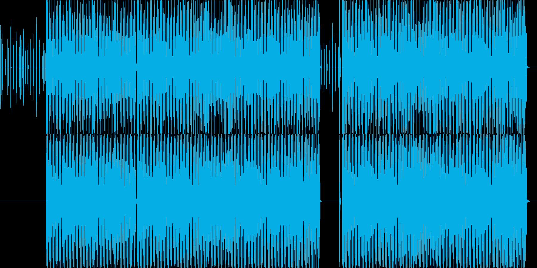 エレクトリックなディスコポップスの再生済みの波形