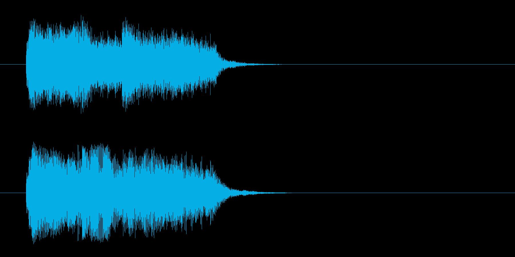 荘厳/登場シーン風クラシックのジングルの再生済みの波形