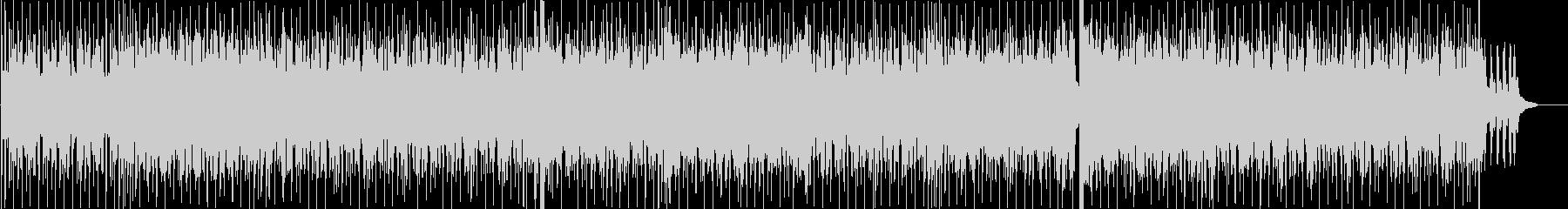 スパイ映画風ストリングスロックの未再生の波形