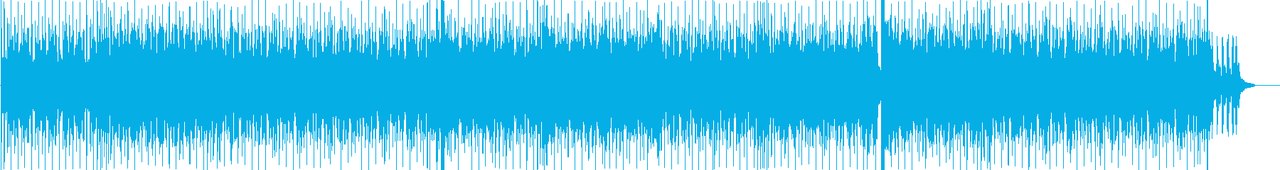 スパイ映画風ストリングスロックの再生済みの波形