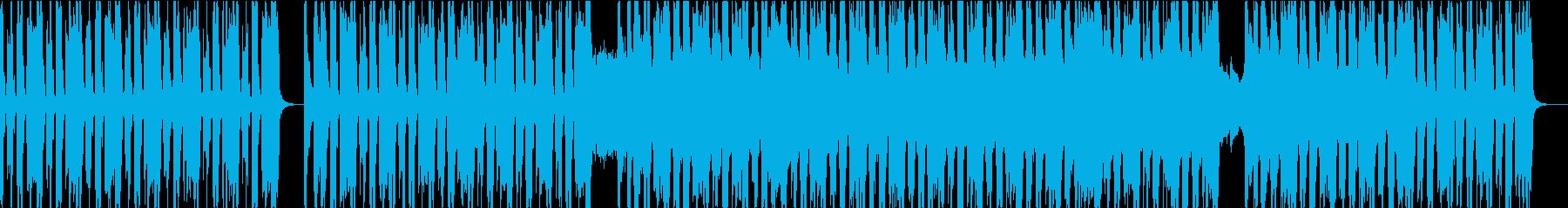 生々しい現代ブルースロックの再生済みの波形