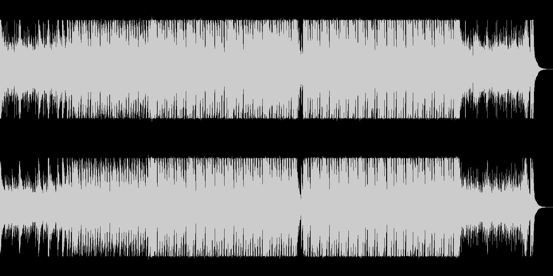 疾走感のあるシンセサイザーポップスの未再生の波形