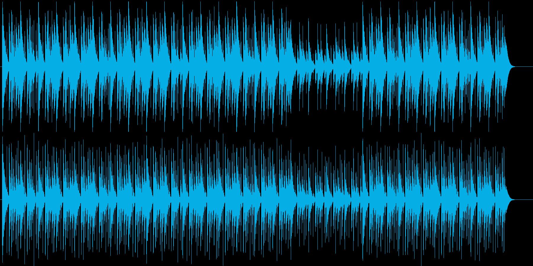 不思議さと少し気味悪さが漂うBGMの再生済みの波形