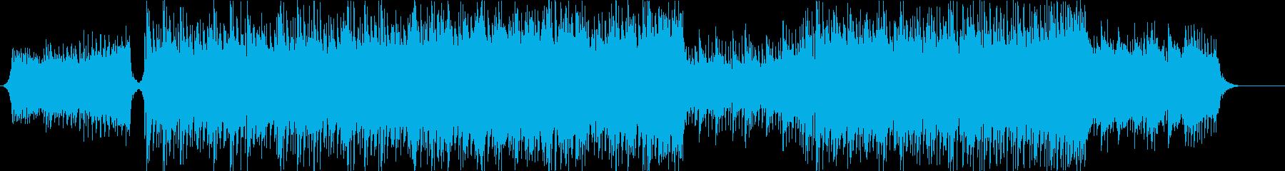 爽やかで企業VPやドライブ映像に合う曲の再生済みの波形