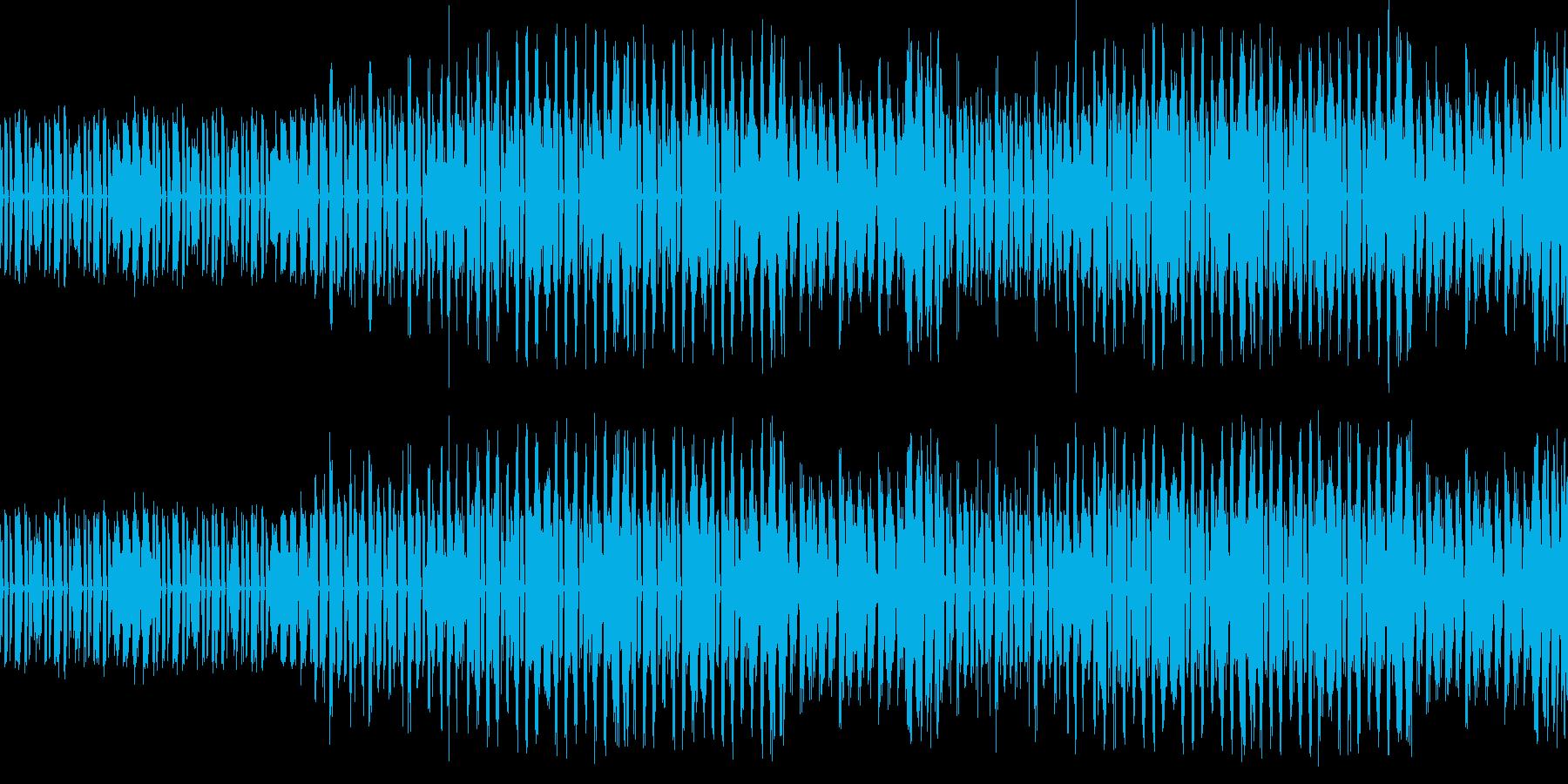 コミカルなダンスミュージック★ループ仕様の再生済みの波形