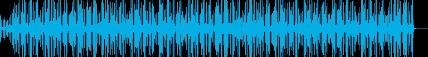 ミニマルなピアノBGM(WAV)の再生済みの波形