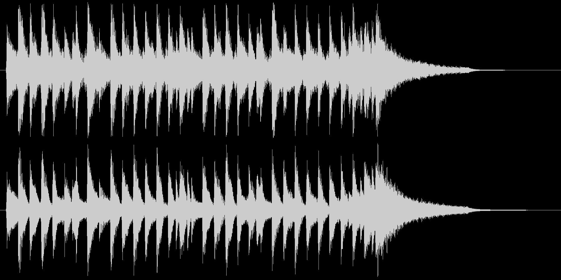 爽やかなコーポレート系流行サウンド♪の未再生の波形