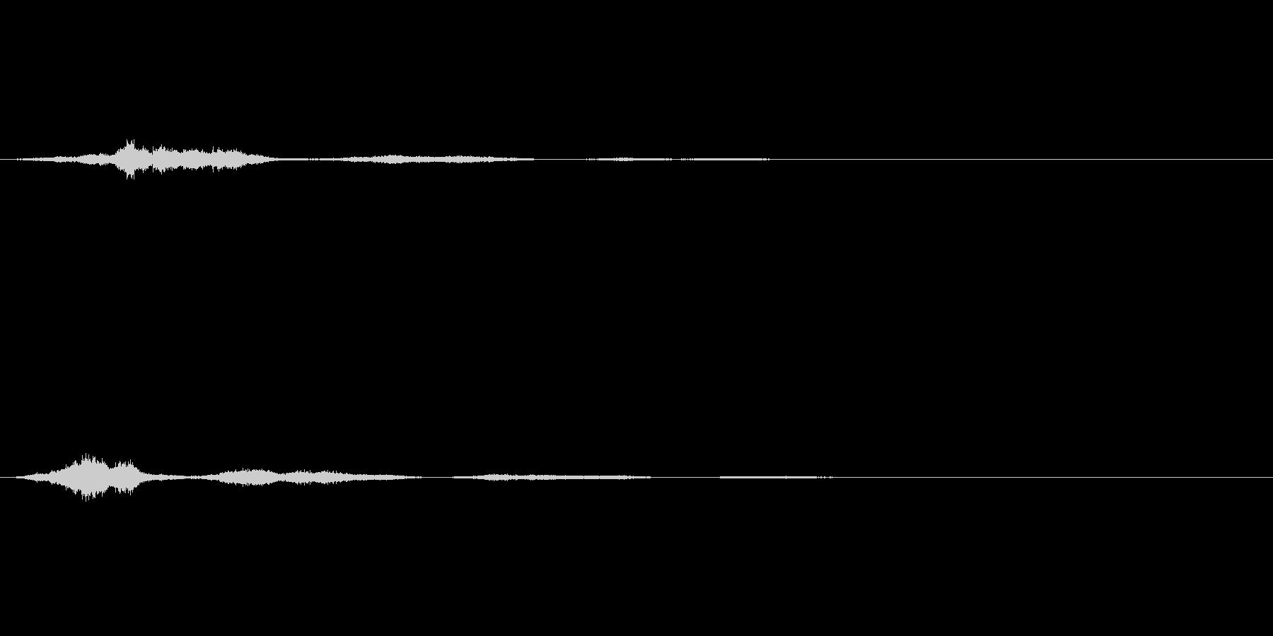 【SE 効果音】風3の未再生の波形