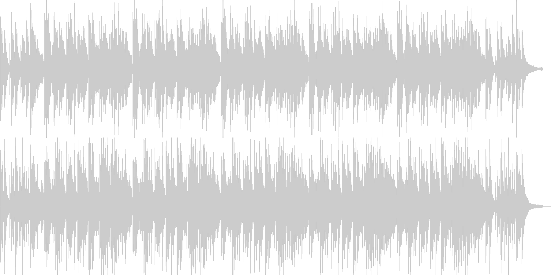 赤とんぼ(童謡)ピアノ&ストリングス)の未再生の波形
