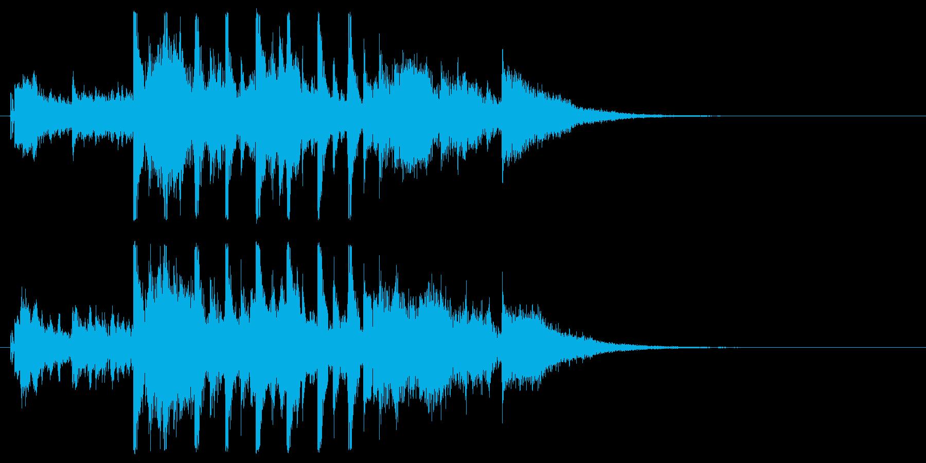 【JG】場面展開(不安・緊迫01)の再生済みの波形