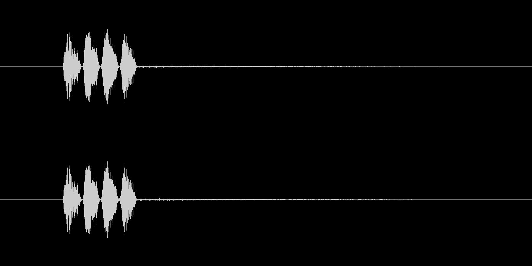 オリジナルの効果音_ボタンや動きなどの未再生の波形