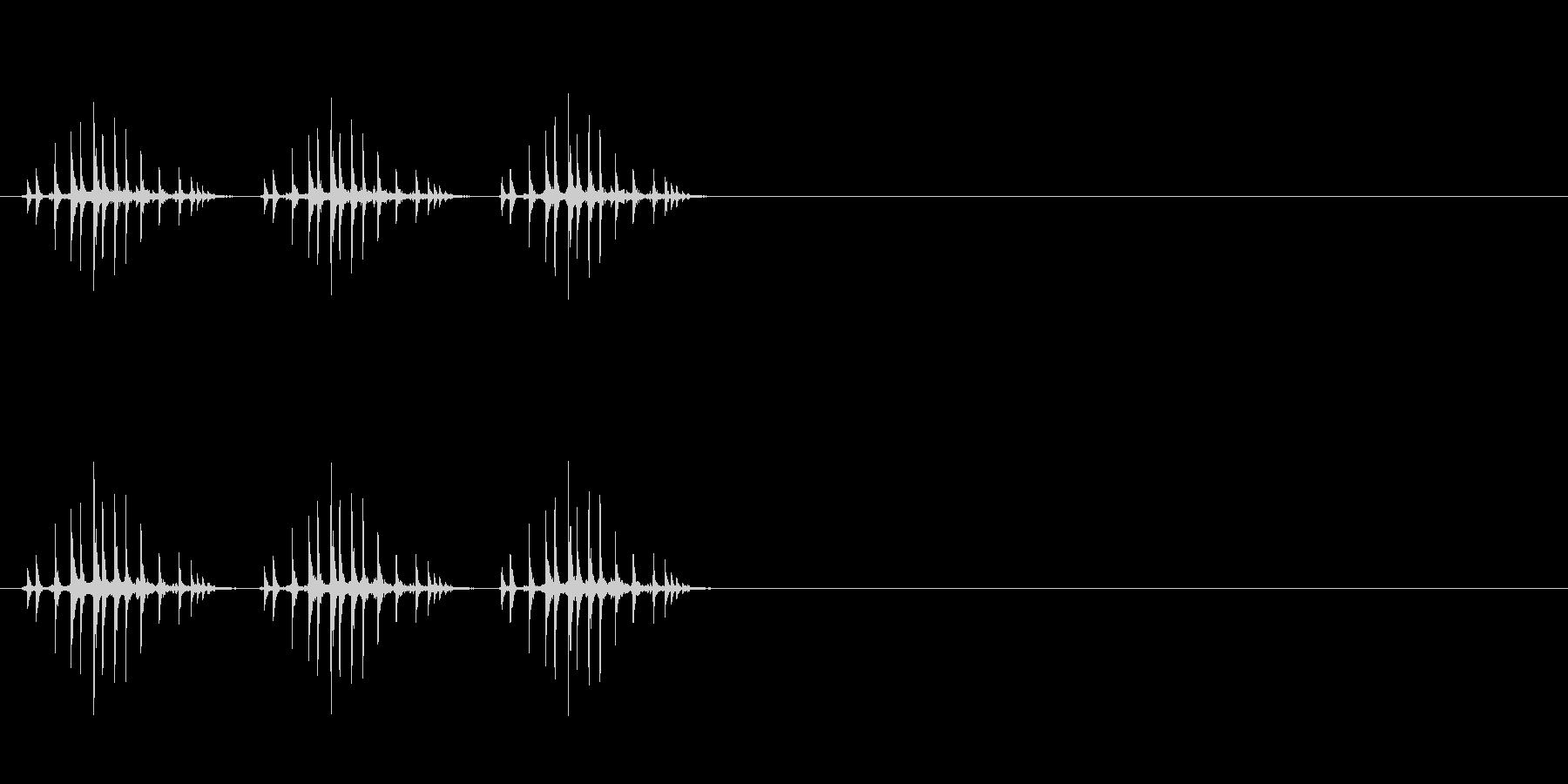 ギリギリギリ(釣り、リール巻き、早め)の未再生の波形