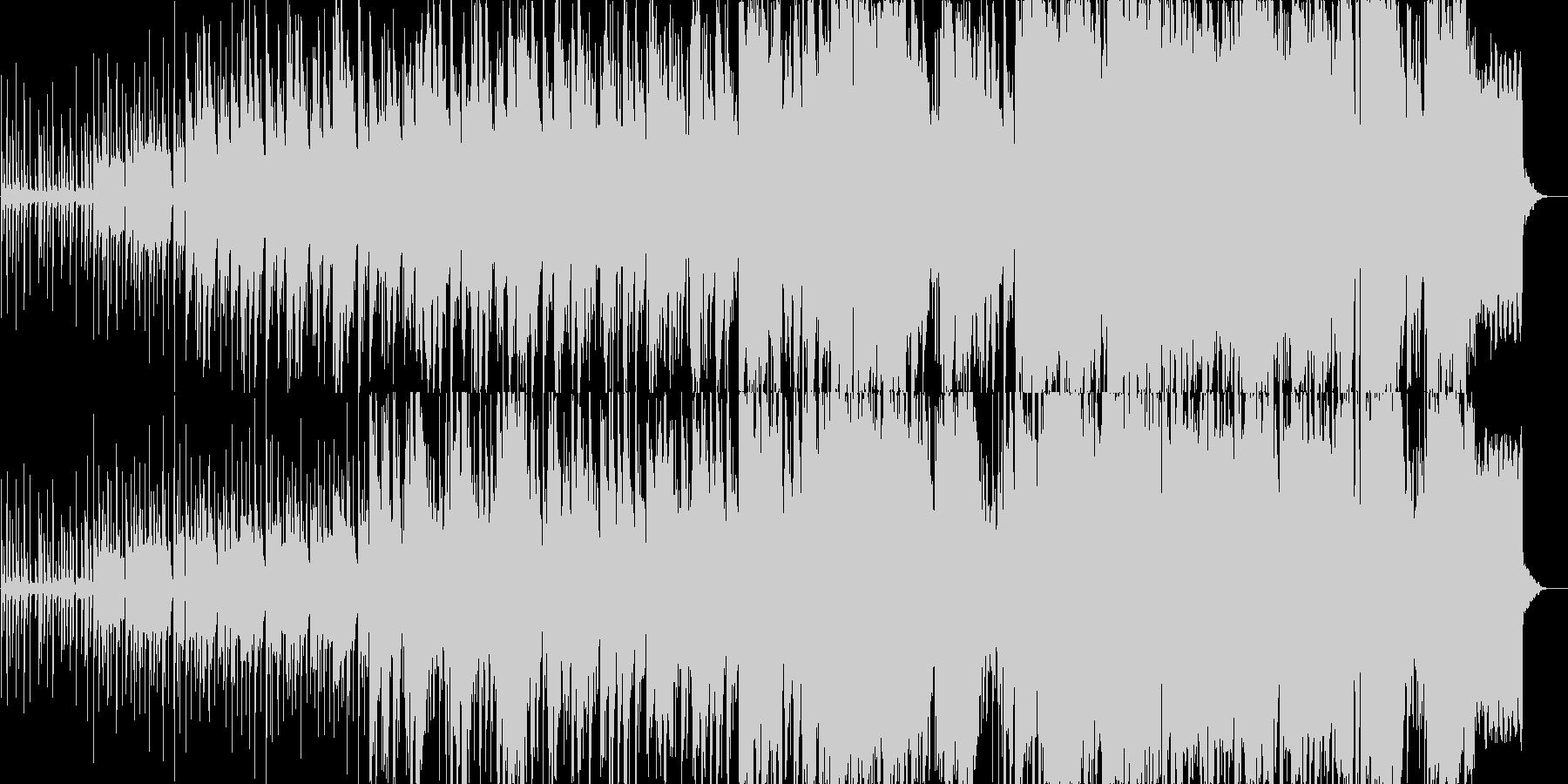 怪しい雰囲気が漂うインド音楽の未再生の波形