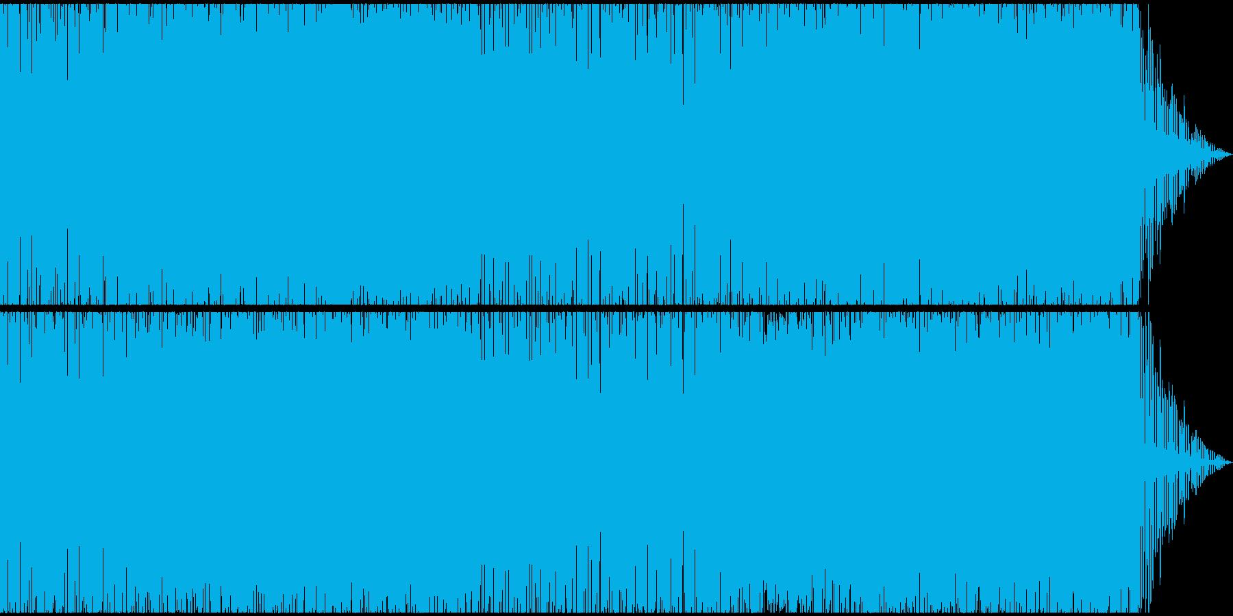 ノリノリアゲアゲなEDMの再生済みの波形