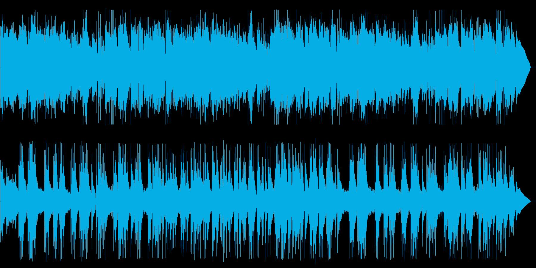 ギターデュオのスペイン風ポップスの再生済みの波形