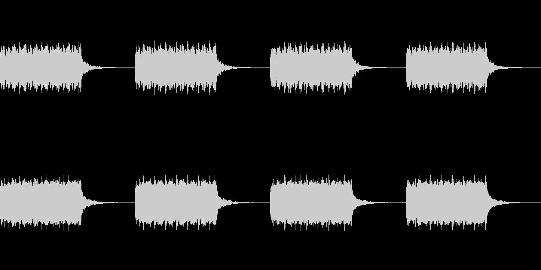 トゥルルルルルの未再生の波形