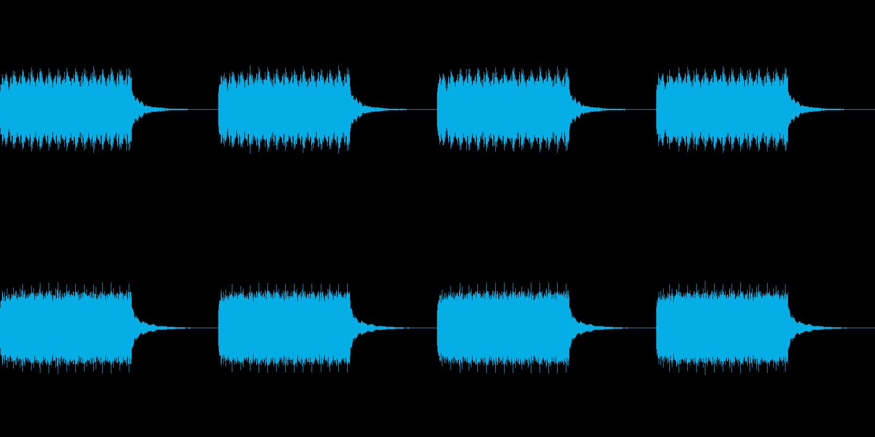 トゥルルルルルの再生済みの波形