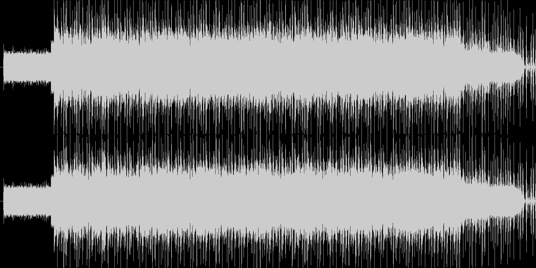 アンニュイなイメージですの未再生の波形