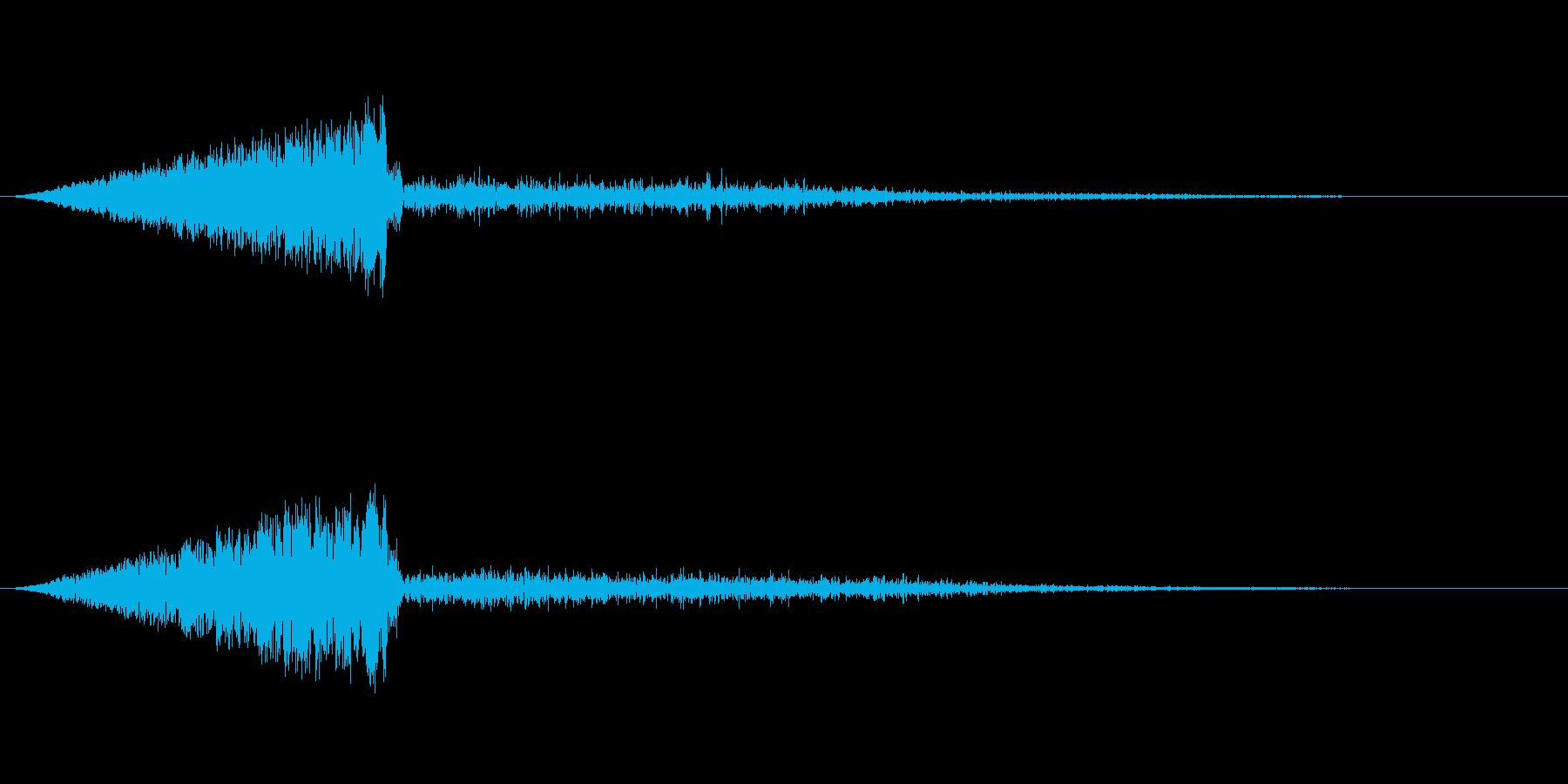 ビユン(消える_02(低音のヴンッ))の再生済みの波形