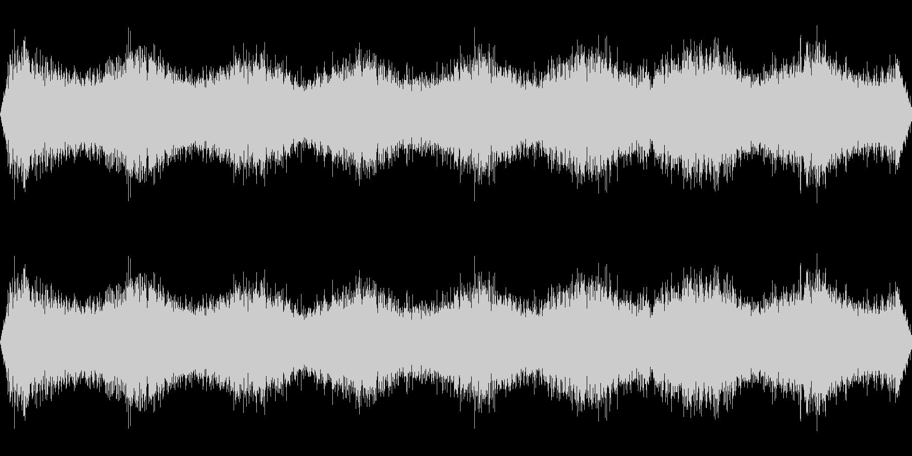 宇宙人の音の未再生の波形