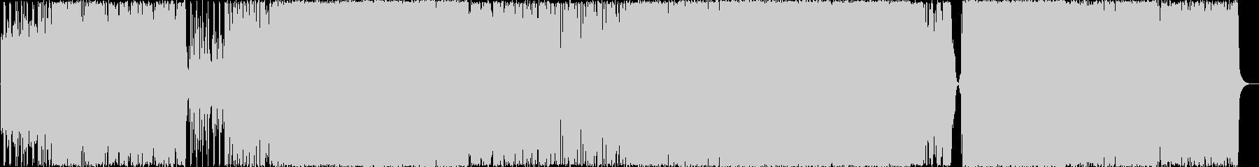 ミディアムテンポの壮大な和風ハードロックの未再生の波形