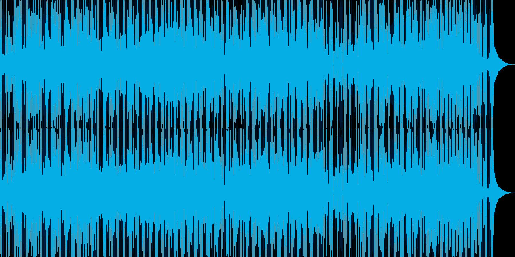 今どきBGM_楽しい_ウクレレ_淡々1の再生済みの波形