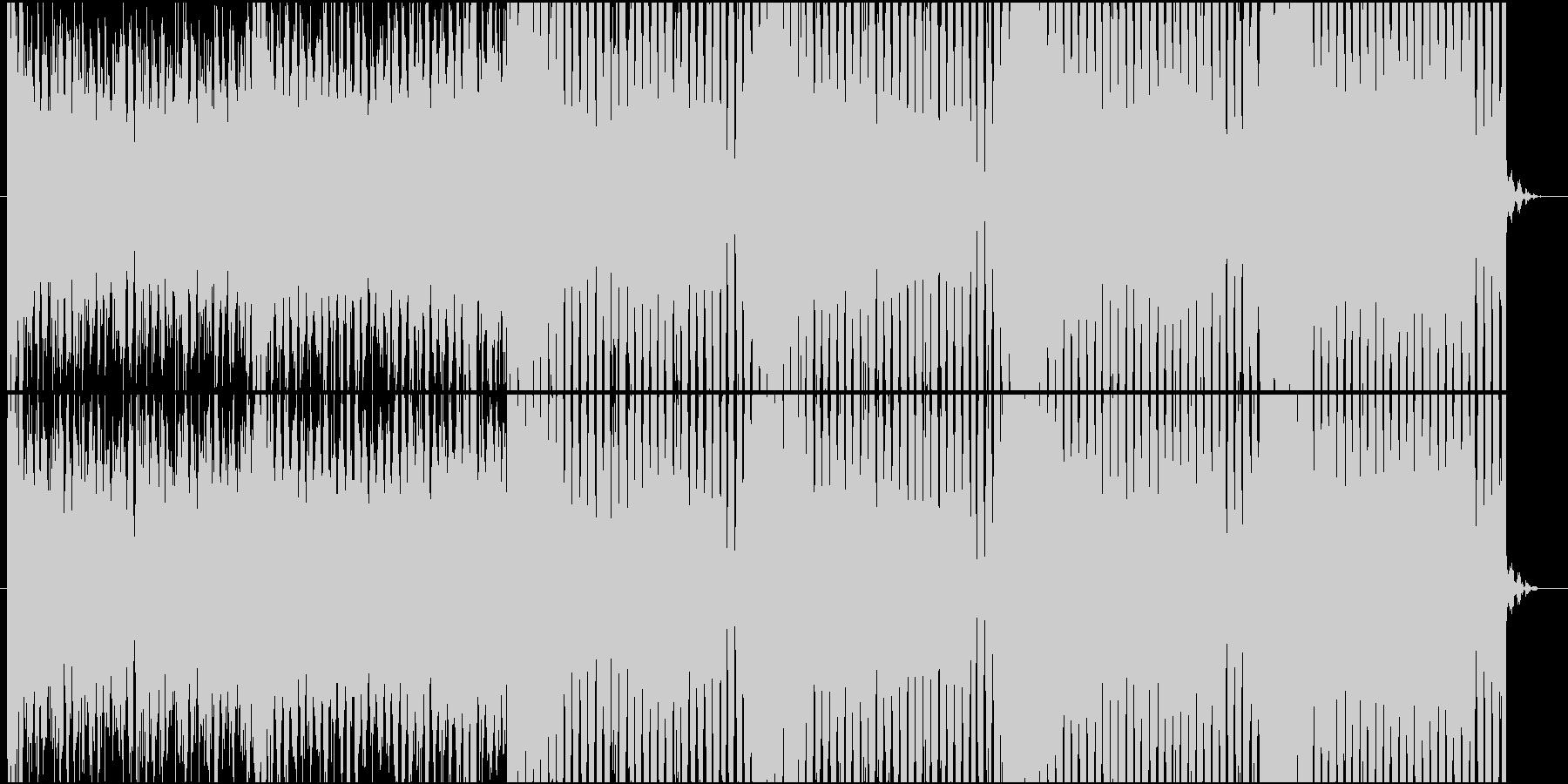 攻撃的なリフのEDM swedish風の未再生の波形