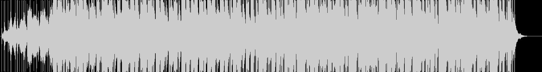 インド風楽曲の未再生の波形