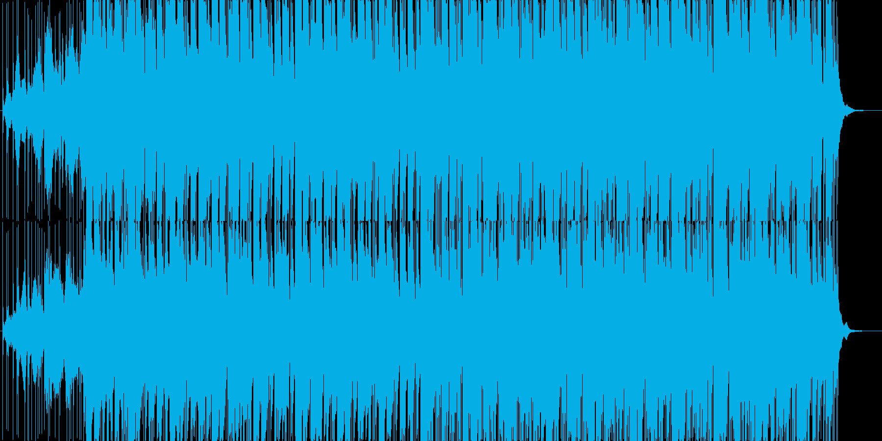 インド風楽曲の再生済みの波形