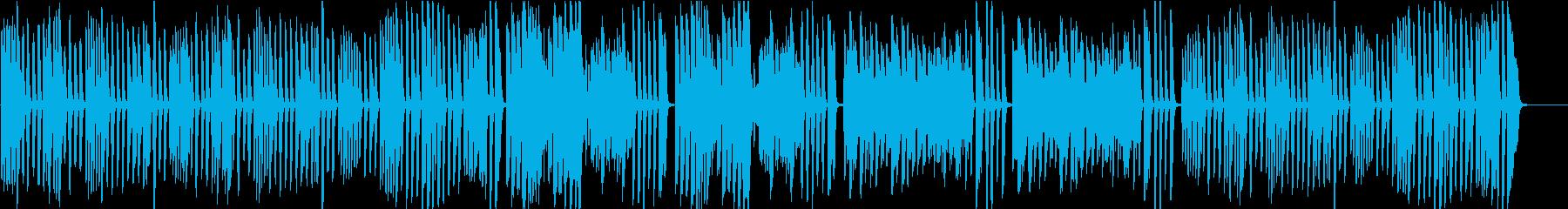 ピアノ名曲ガボット 上品でかわいい曲の再生済みの波形