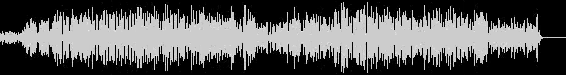 昭和歌謡風ポップス コミカルで元気 フルの未再生の波形