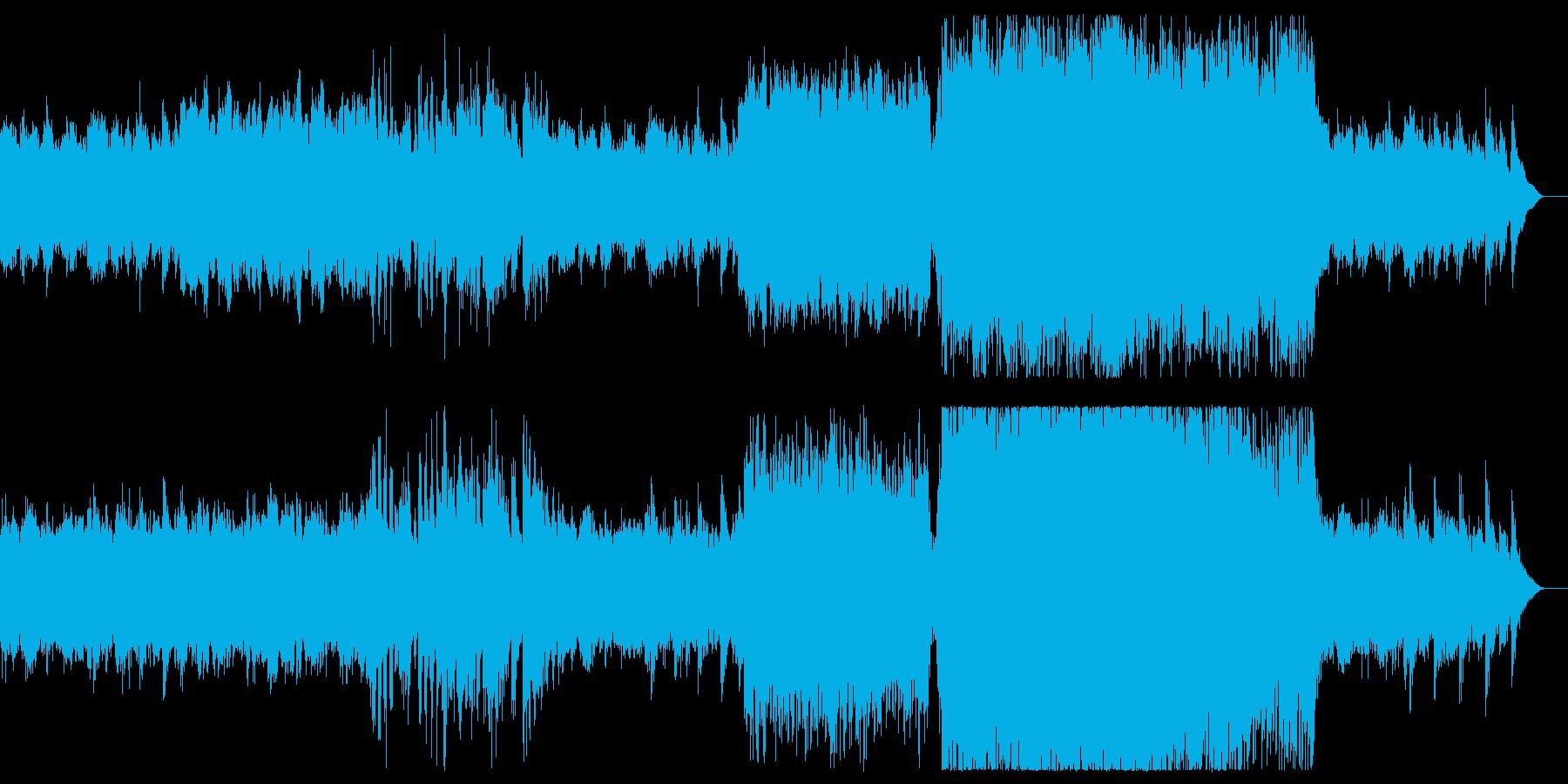 ♪ノスタルジックなアンビエント♪の再生済みの波形