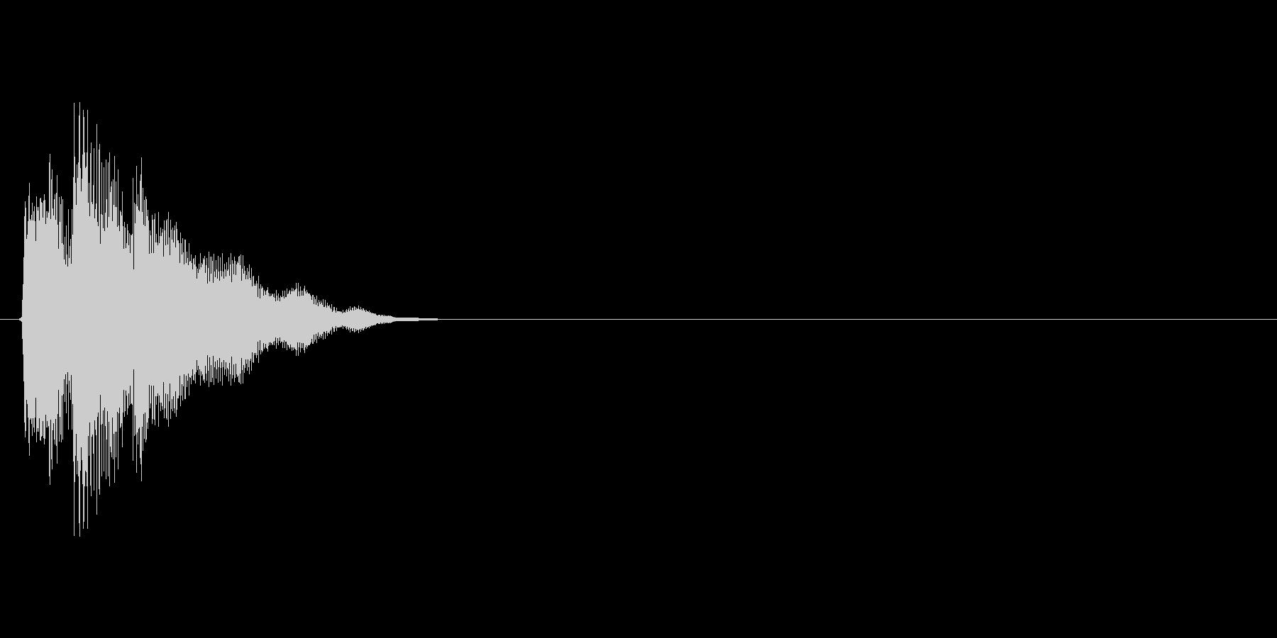 テレン!(シンセ、選択、高い音、UI)の未再生の波形