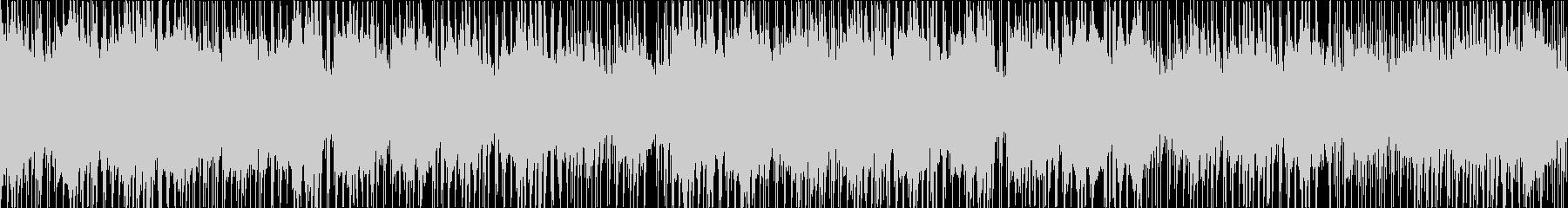 しっとり和風のR&B ループ版の未再生の波形