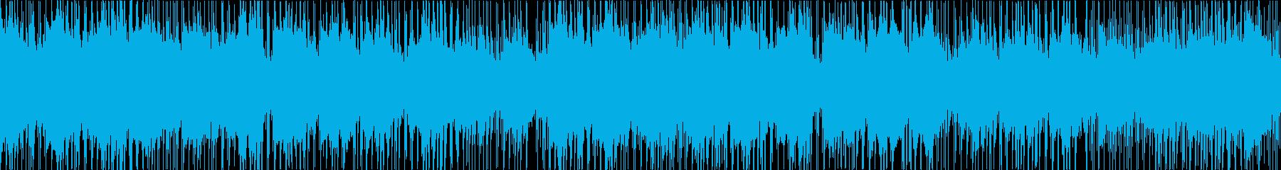 しっとり和風のR&B ループ版の再生済みの波形