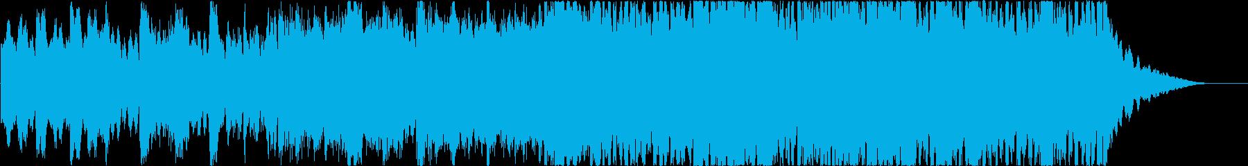 【30秒】優しく感動的なポップオーケストの再生済みの波形