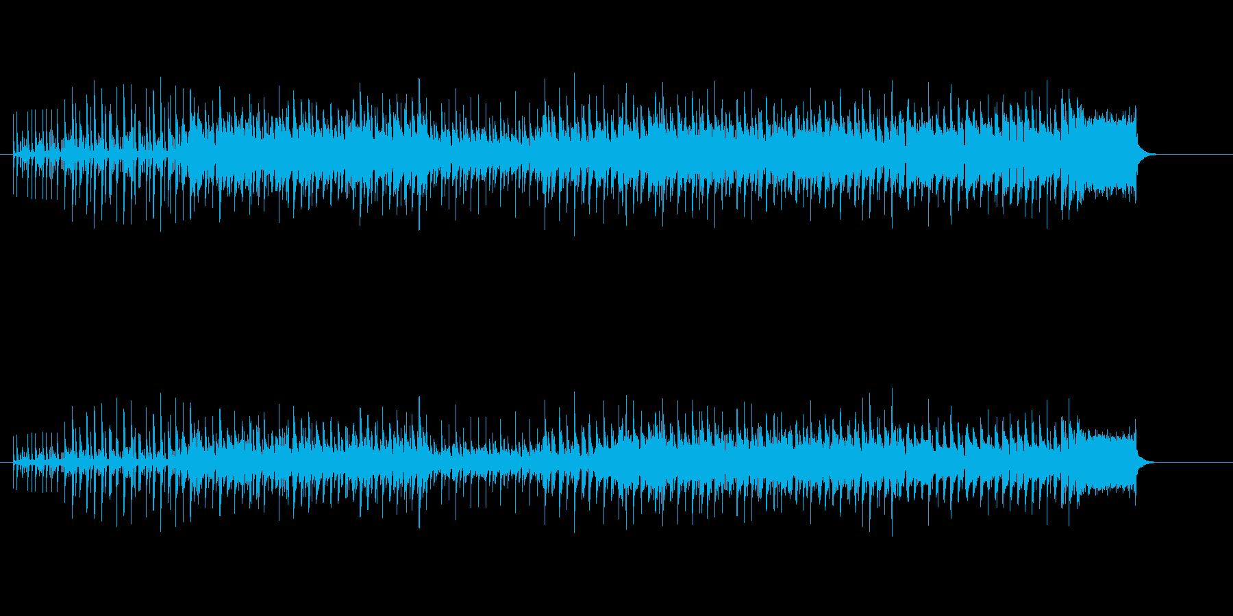 ゲーム・ミュージック風行進曲の再生済みの波形