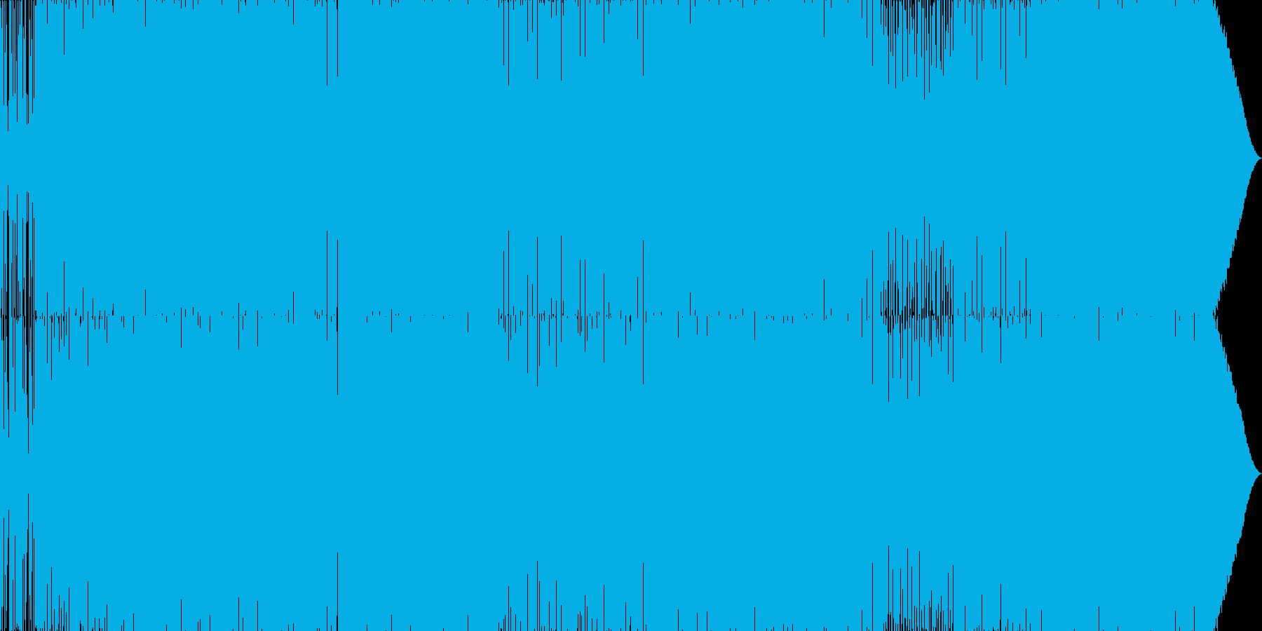 70'~80'年代のディスコ風01の再生済みの波形