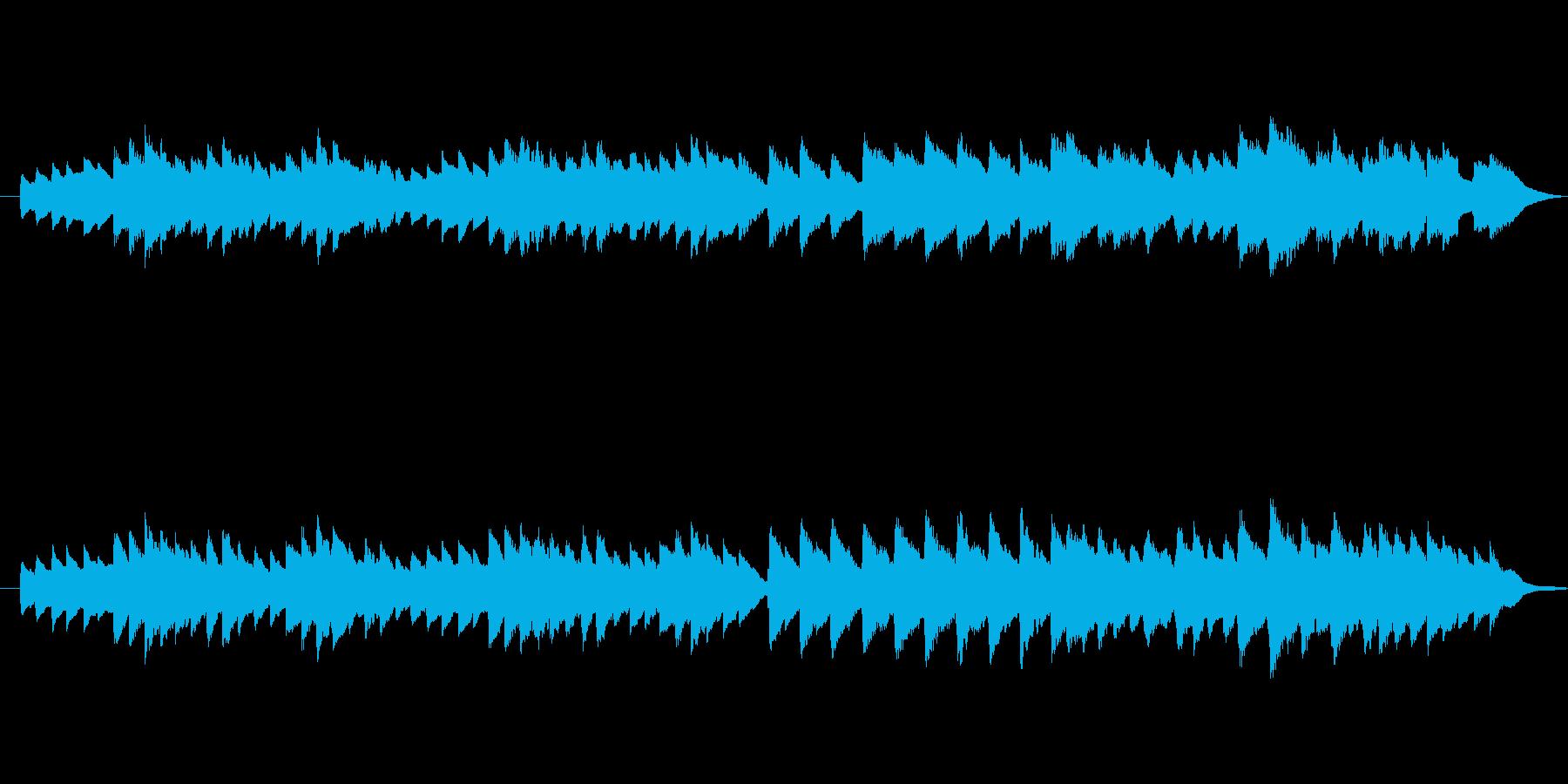 着信音サイズ(30秒)のオルゴール曲の再生済みの波形