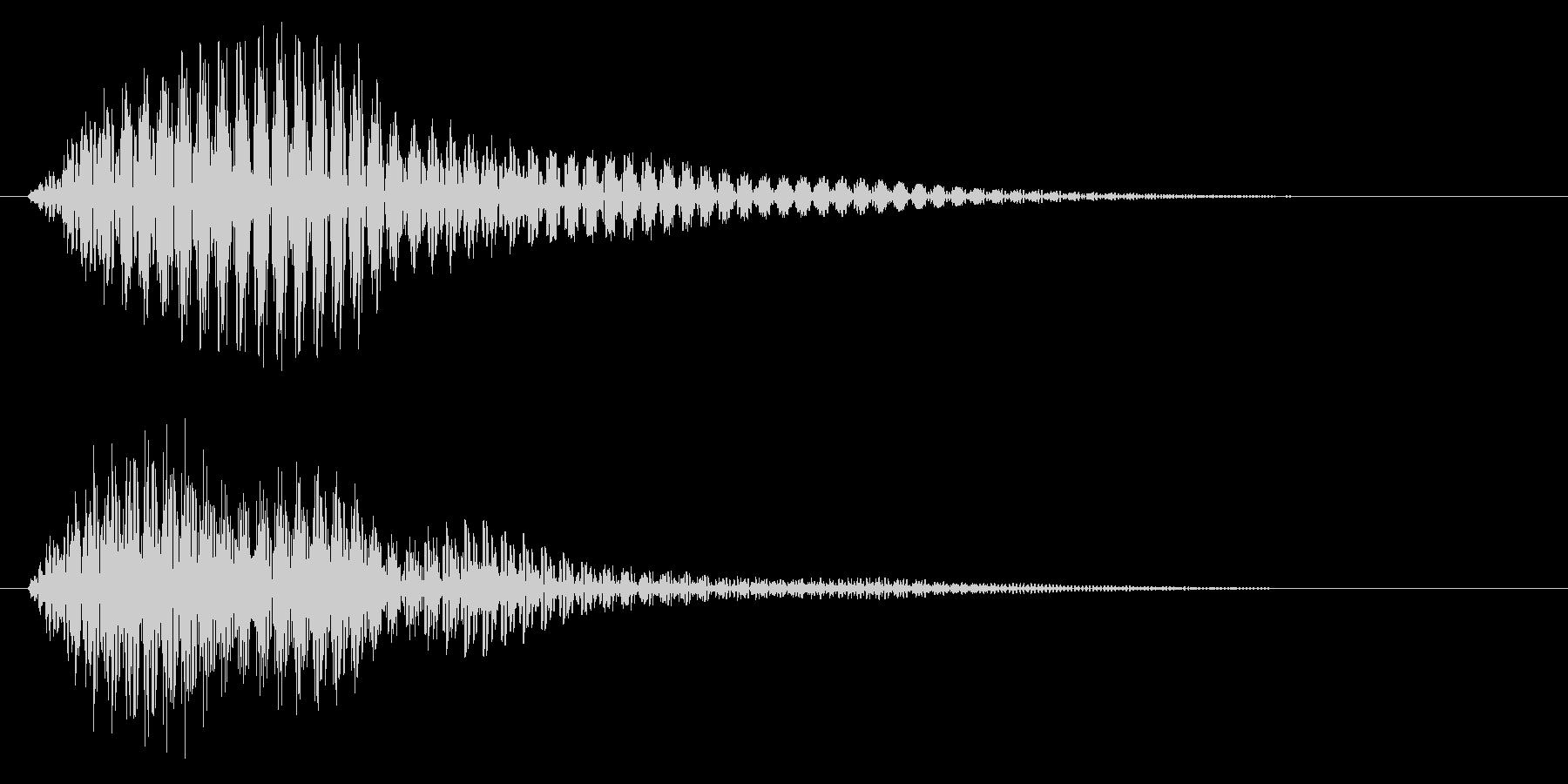 選択/マレット系/かわいいの未再生の波形