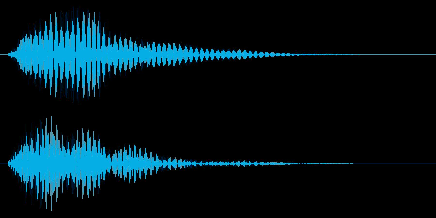 選択/マレット系/かわいいの再生済みの波形
