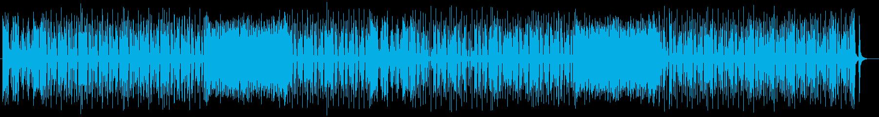 軽快で爽やかなピアノメロディのポップスの再生済みの波形