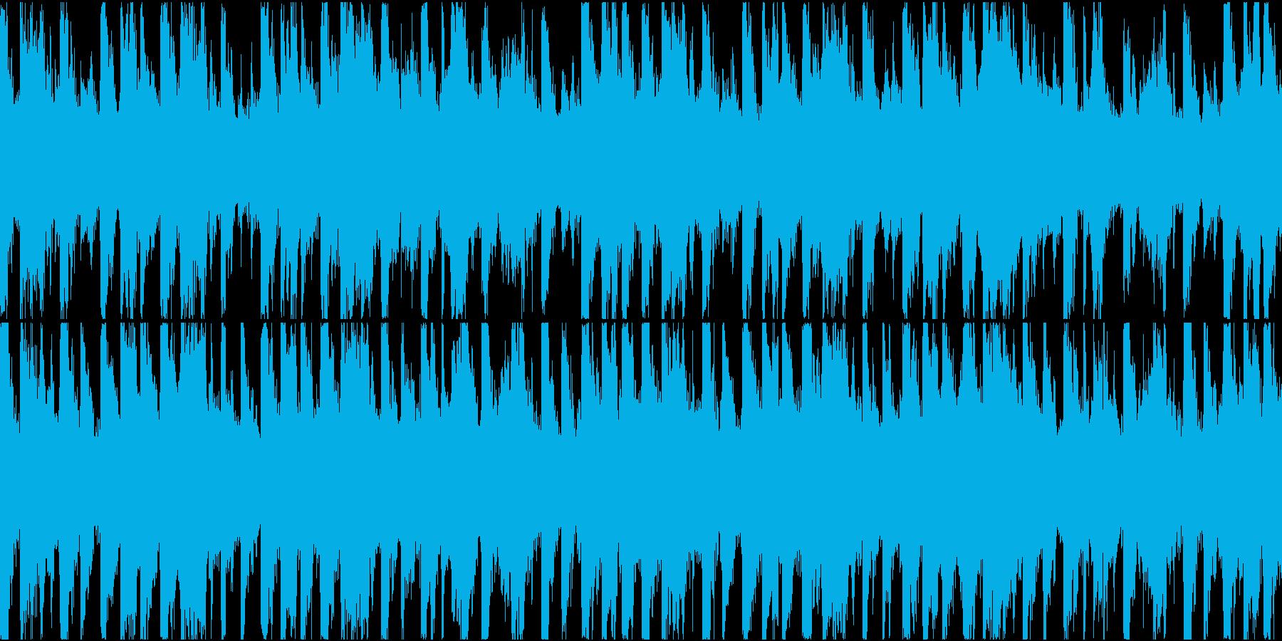 BGM04 Saz  20秒ループの再生済みの波形