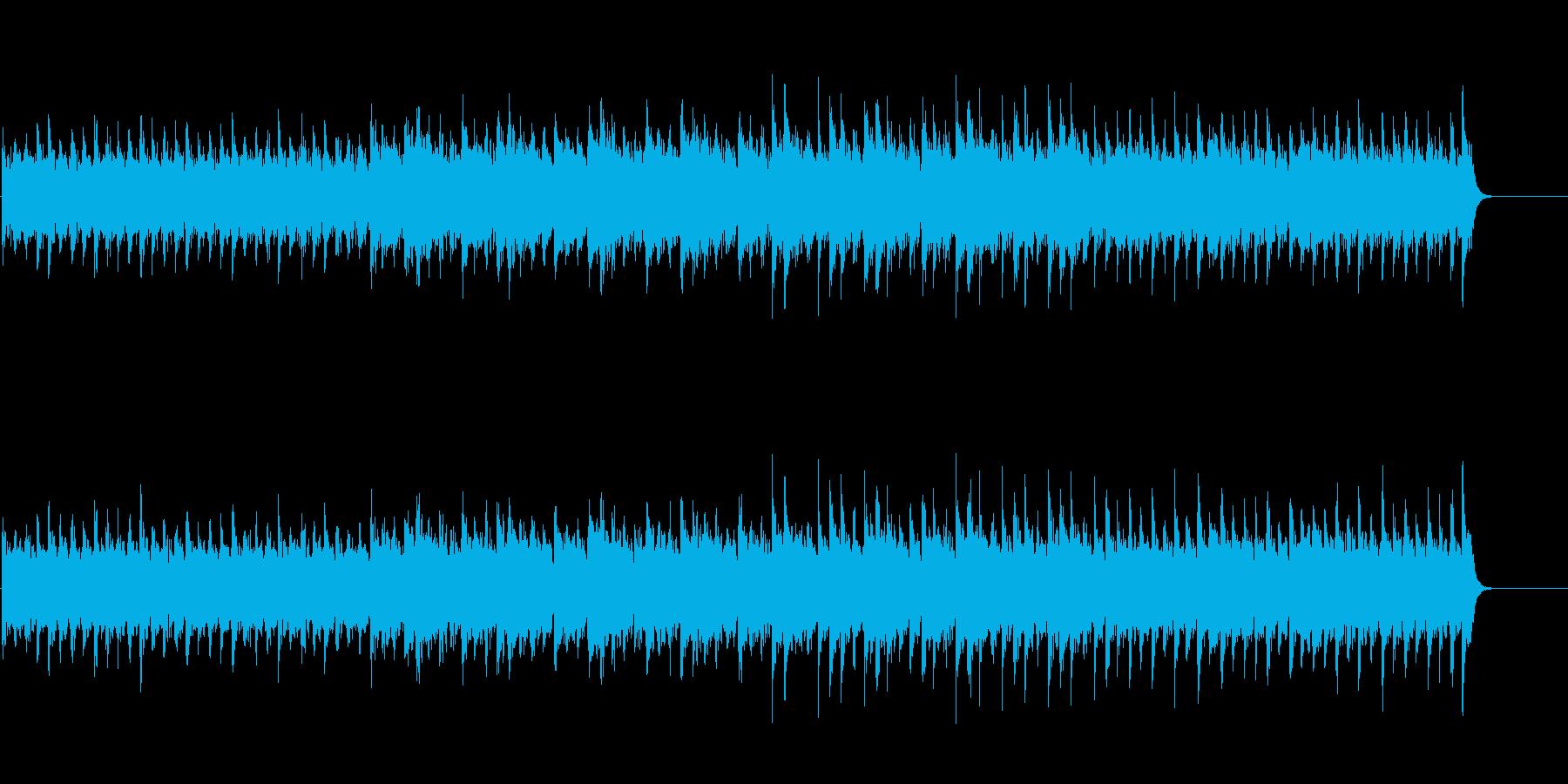 デジタルサウンド(テクノロジカルな感じ)の再生済みの波形