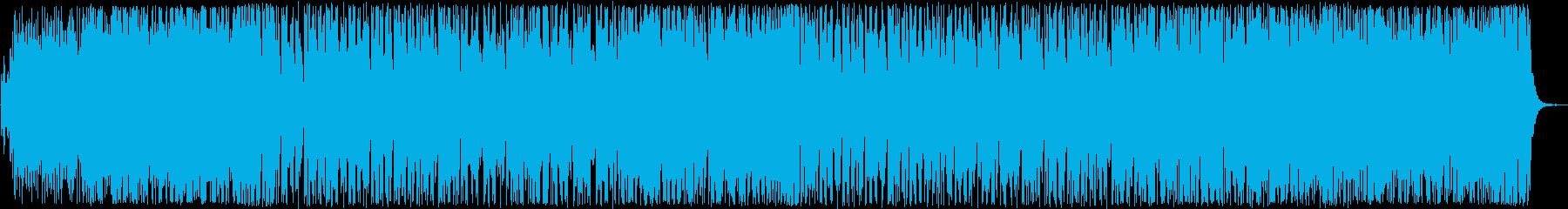 おしゃれなシンセサイザーなどのポップの再生済みの波形